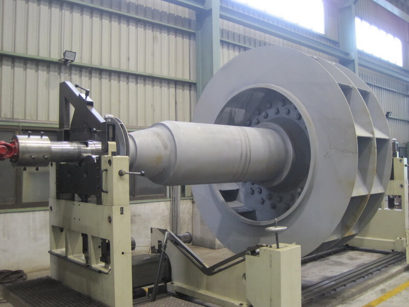 High Pressure Blower : Important of blower impeller balancing